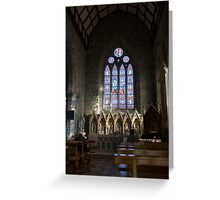 St Mary's Cathedral Killarney Kerry 2 Greeting Card