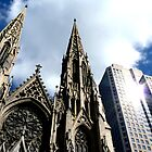 St Patricks Cathedral - New York City by Tom Clancy