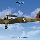 Auster Mk I 651 Sqn by Claveworks