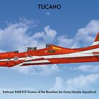 Embraer Tucano Brazil 1 by Claveworks