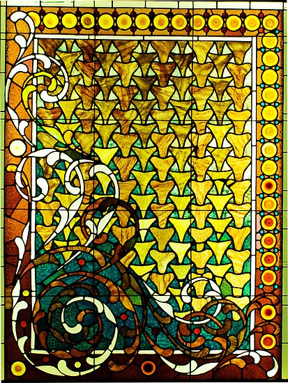 Stained glass window by Thad Zajdowicz