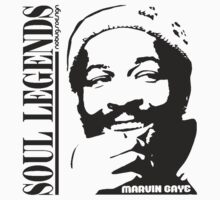 SOUL LEGENDS MARVIN GAYE by Hendrie Schipper