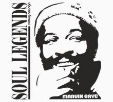 SOUL LEGENDS MARVIN GAYE by Hendrie Schipper