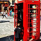 Red Telephone Box - Its for me!! by P Keddie