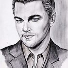 Leonardo DICAPRIO portrait by jos2507