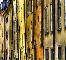 Old Town facades. by cloud7