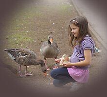 Feeding time with Kate by Joyce Knorz