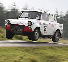 Ford Anglia - Harry Flatters Rally, Epynt 2011 by MSport-Images