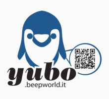 yubo - penguin QRcode by yubo