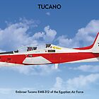 Embraer Tucano Egypt 1 by Claveworks