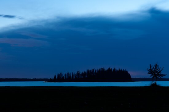 Waiting for the Storm - Elk Island National Park (Edmonton, AB, Canada) by camfischer