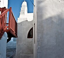 Mykonos Alley by phil decocco