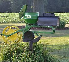Mailbox Courtesy of John Deere by Sheryl Gerhard