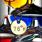 Galileo's Thermometer by Michael Waine