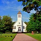 Church on Madeline Island by filmdalight