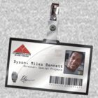 Terminator 2 - Miles Dyson ID (New) by TGIGreeny