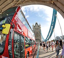 The Red London Bus by j0sh