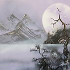 Violet Moon by Rozalia Toth