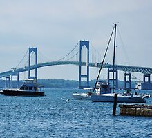 Clairborne Pell Newport Bridge by Poete100