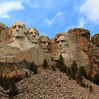Mount Rushmore by Jim  Egner
