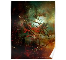 Coral Tree in Space Poster
