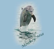 Monkey Mia, Dolphin  by Julia Harwood