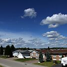 Clouds Over Suburbia by TylerBelisle
