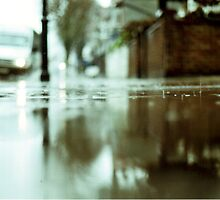 rainy pavement by tobyharvard