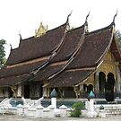 Buddhist temple - Wat Xieng Thong  by machka