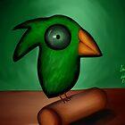 Leafy Bird by Ibrar Yunus