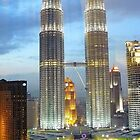 Petronas  Towers by jainiemac