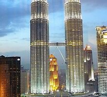 Petronas  Towers by Jane  mcainsh