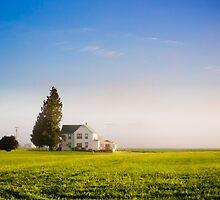 Farm House in the morning light by JonAnderson