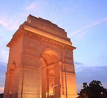 India Gate by Rohit Khanna
