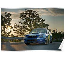 WRC Sunrise Poster