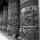Prayer Wheel by Steve Trask