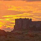 Bamburgh Sunset by Chris Vincent