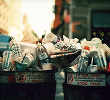 New York rubbish by tobyharvard