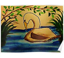 This is the life!  Bird series, watercolor Poster