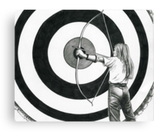 The Target Canvas Print