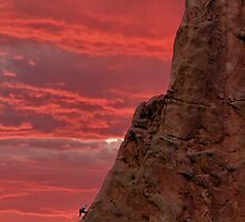 Rock Climbing at Garden of the Gods by TheBlindHog