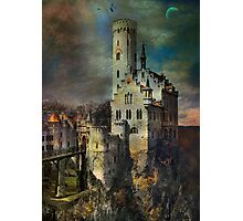 Lichtenstein Castle . Photographic Print