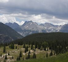 Rocky Mountains by Joe  Gardner