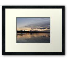 Evening Calm ,Burtonport Harbour, Donegal,Ireland Framed Print