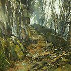 Forlorn Trail. by Guennadi Kalinine