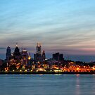 Philadelphia Skyline by Michael Mill