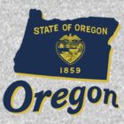 oregon state flag by peteroxcliffe