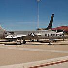 #56-0790 YF-104G Starfighter wide shot by Henry Plumley