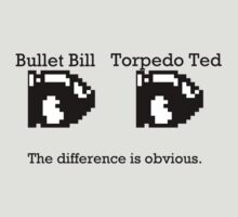 Bullet Bill & Torpedo Ted by ZinkLTD