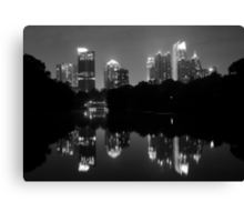Piedmont Skyscrapers Canvas Print